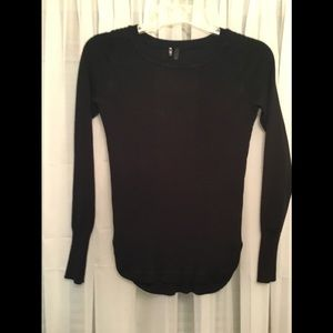 Maurices Black Long Sleeve Top